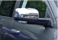 道奇Ram/公羊15002500改装后视倒车镜尾门外拉手盖壳罩汽车装饰件