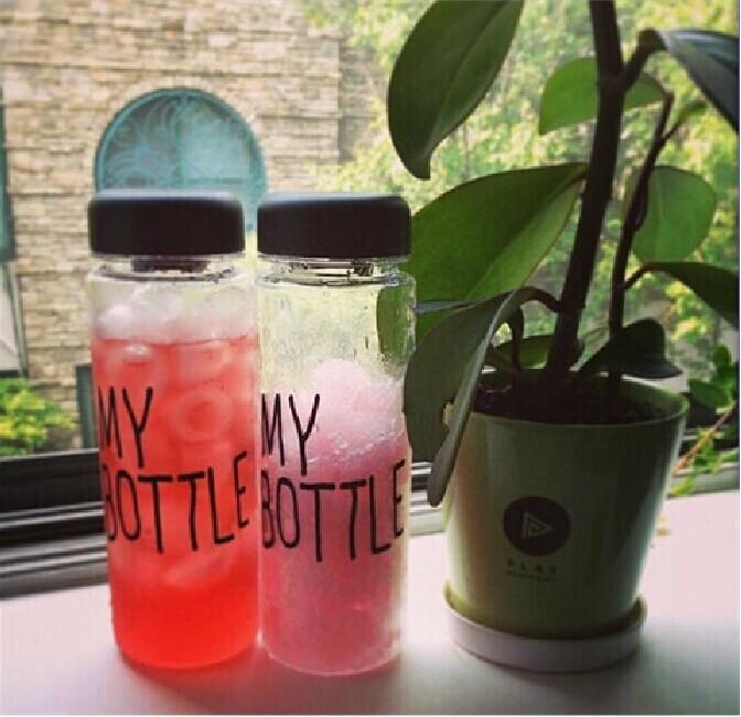 2014mybottle пластиковые Кубка Кореи сопровождающих рук Кубок моя бутылка пространство логотипа