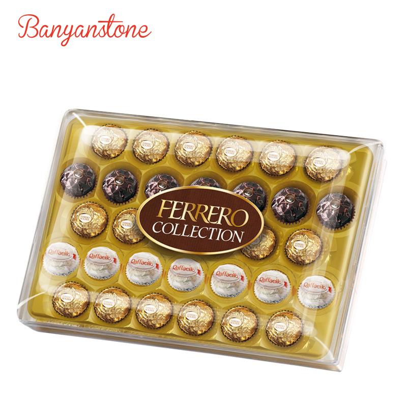 费列罗Ferrero Collection32粒情人礼盒装 食品零食婚礼盒装