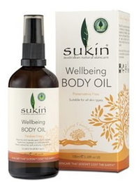SUKIN  Wellbeing Body Oil 澳洲苏芊健康按摩油100ml