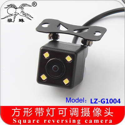 Genuine tarantula CCD HD night vision reversing camera adjustable universal plug the car as car after the ruler