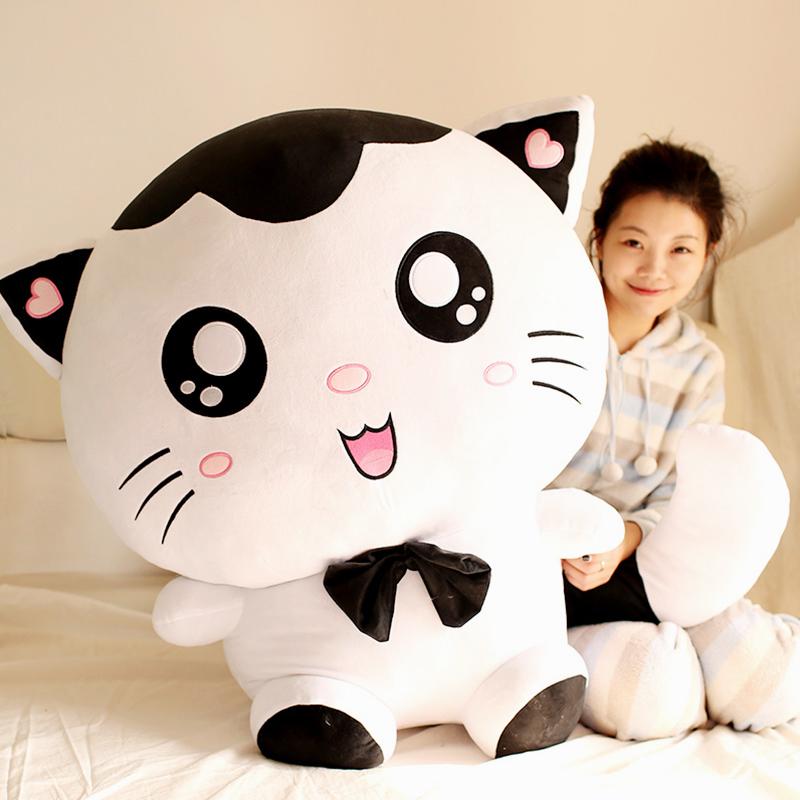 毛绒玩具大号可爱猫玩偶抱枕公仔小猫咪布偶娃娃创意女孩生日礼物