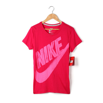 Nike / Nike conventional short-sleeved round neck cashmere women's sports shirt sports the new T-shirt 619379