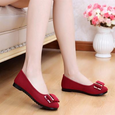 2015春季新款老北京布鞋女鞋平跟平底女式低帮单鞋花朵时尚休闲