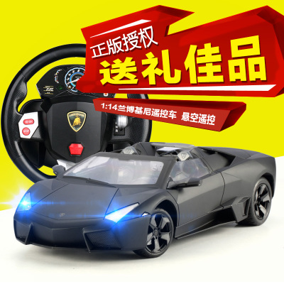 US-induced super Lamborghini children's toy car remote control car boy steering wheel remote control car charging drift