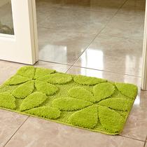 幸运草地垫卧室 床边地垫浴室进门长方形垫子卫生间门口吸水门垫
