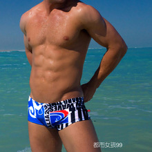 Fashionable man swimming trunks Sagging small boxer swimming trunks Australia's sexy swimwear hot spring resort