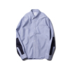 Unawares 15SS NYLON PANEL OXFORD B.D SHIRT/NAVY