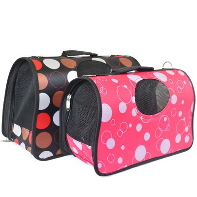 Carrying out fashion pet dog bag cat bag pet dog pack backpack window air bags handbag