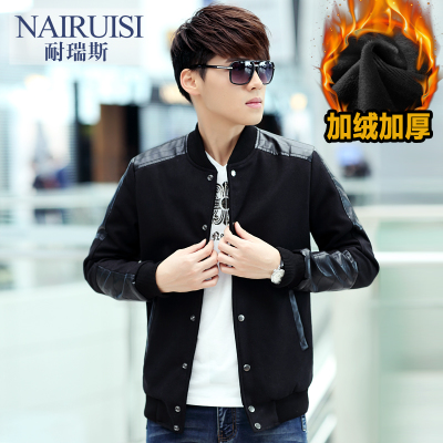 2014 new men's Spring and Autumn Reese resistant jacket coat Korean Slim thin section influx of men casual coat