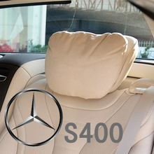 Soft and comfortable car headrest new Mercedes s-class S500 with rear headrest new mercedes-benz S400 headrest pillows