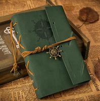 韩国复古记事本女生活页笔记本牛皮纸日记本空白同学录纪念本包邮