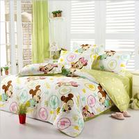 苏娜国际家纺四件套 全棉新年套件 床单被套四件套纯棉四件套