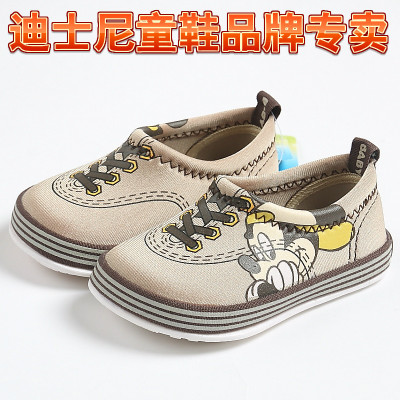Spring shoes authentic Disney Mickey children child baby shoes casual shoes soft bottom non-slip shoes S78325