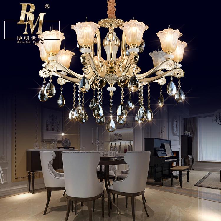正品打折欧式水晶吊灯客厅卧室餐厅吊灯灯具蜡烛灯饰