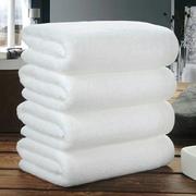 白色毛巾纯棉宾馆酒店汗蒸美容院专用包头纯棉足疗洗浴小方巾