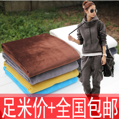 Thick flannel material does not fall in autumn and winter cotton thermal underwear plus velvet cloth underwear guard sub clothing