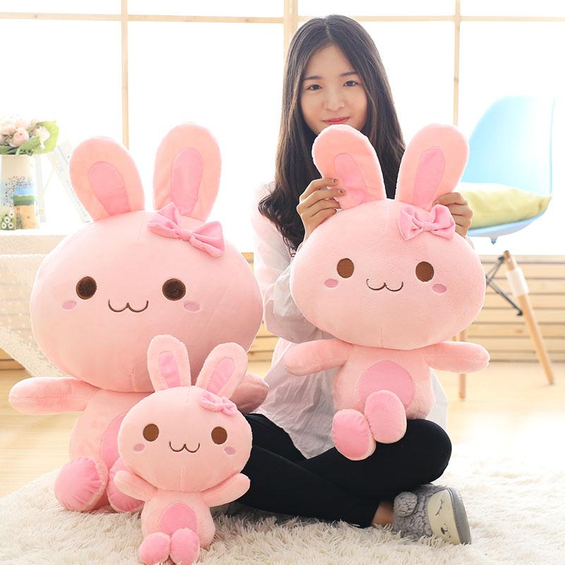 天使兔毛绒玩具