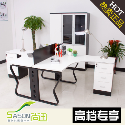 Fast yet simple and modern office furniture desk staff tables screen staff group creative deck staff tables