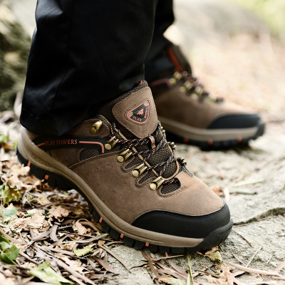 Friends step in older men autumn and winter sports shoes, men's shoes, outdoor shoes slip elderly middle-aged dad shoes