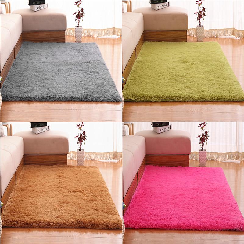 可水洗丝毛地毯客厅沙发茶几卧室地毯飘窗床边毯满铺榻榻米可定制
