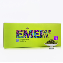 2014 fresh tea Emei snow sprout dew 100 grams of gift boxes Remarkably early fresh tea Emei mountain green tea The tea