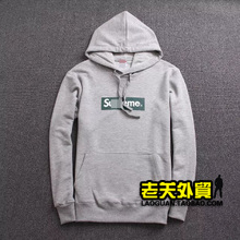 The old house the new 2014 autumn Hooded head multicolor loop Fleece printed YM