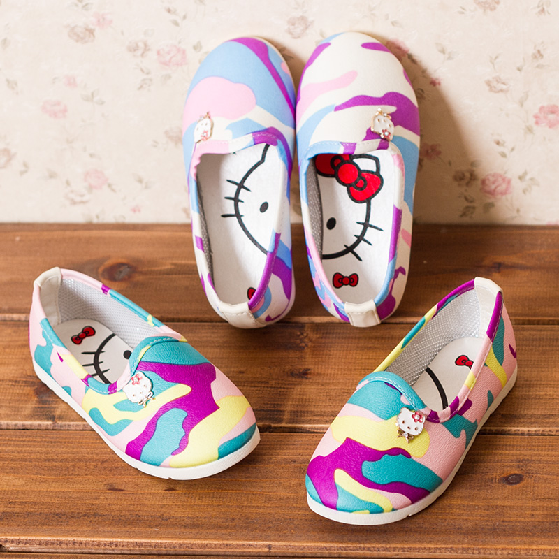 Bean funny shoes shoes girls shoes 2014 new Korean children cool shoes princess shoes girls sandals
