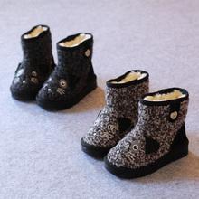 The new winter 2014 children girls boys mouse cartoon IXG children cuhk children's short boots