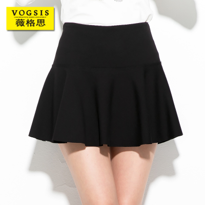 2014 Korean version of the fall and winter clothes women bottoming skirts pleated skirt tutu skirt waist slim A-line skirt