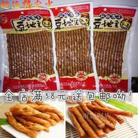特价春福盈豆地主豆干豆地主相思卷风味豆制品豆卷好吃的零食包邮