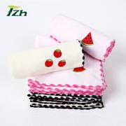 天竹竹纤维小方巾卡通可爱小毛巾柔软吸水儿童洗脸婴儿宝宝口水巾