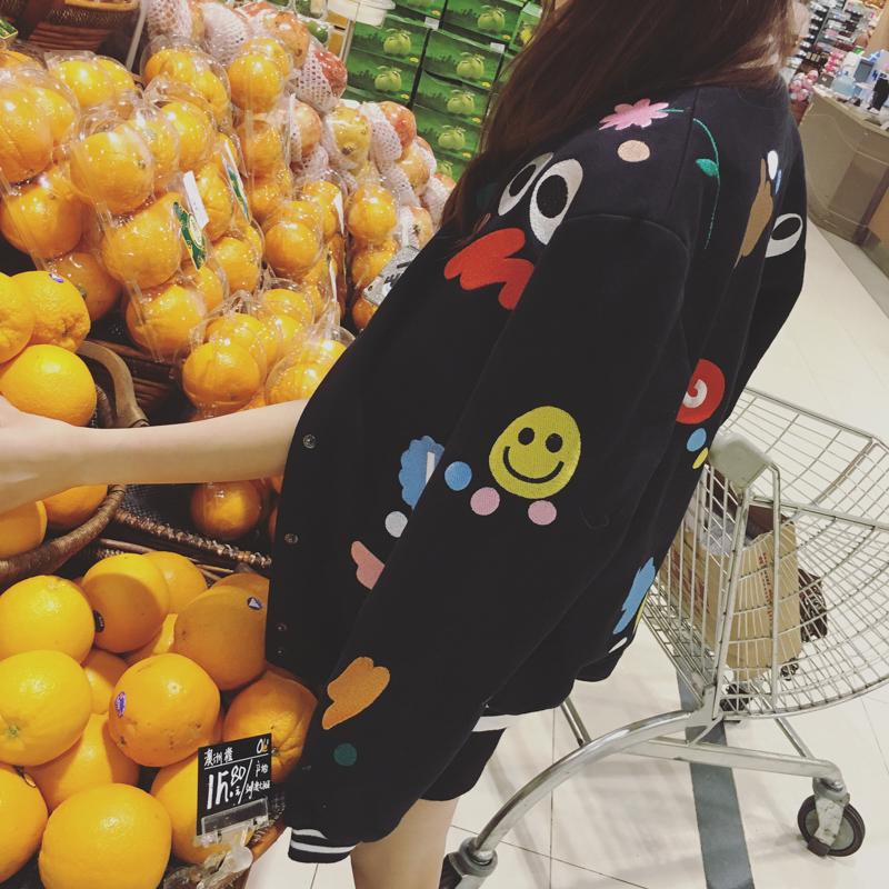 【SASA小姐】独家自制 好质感多图案刺绣棒球服 私厨推荐