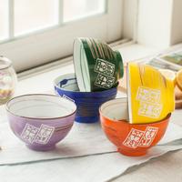 原创意陶瓷碗日本米饭碗日式和风饭碗贝壳碗韩式餐具情侣套装