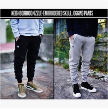 Harlan 15 feet NHIZ men NBHD leisure fleece pants Shawn yue beam foot trousers Qiu dong cotton trousers