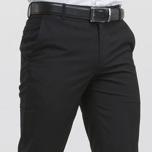 西裤男春夏季型正装西服裤子夏天薄款商务直筒西装裤