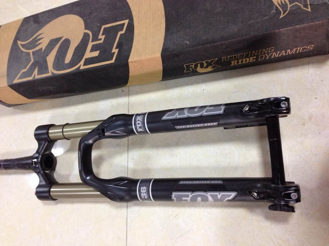 Вилка велосипедная Fox  99 36 Float 160 20MM