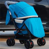 包邮五折婴儿车手推车伞车童车可平躺轻便折叠双向减震婴儿车
