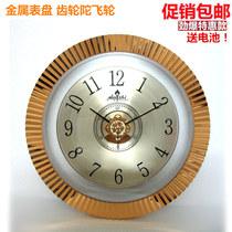 大號客廳掛鐘靜音鐘表時尚創意鐘現代簡約時鐘歐式石英鐘田園表