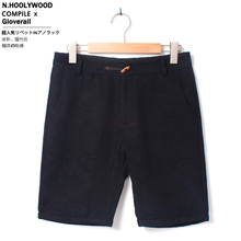 K81-1108 - P45 English Japanese wooden clasp restoring ancient ways of high quality stronger jacquard shorts