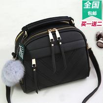 女士包包2017韩版新款女包手提包简约时尚单肩包斜挎小包包流苏包