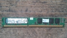 金士顿/Kingston DDR3 1600 8G 台式机内存条 双面 KVR16N11/8-SP
