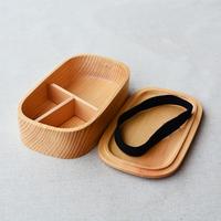 日式正品木质长方形便当盒 便携学生饭盒 创意分格食盒 寿司盒