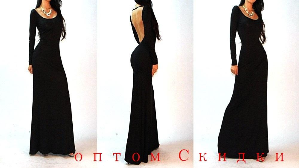 Черные Длинные Платья