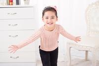 2016春季新款童装毛衣套头女童韩版花型毛衫基本款女童毛衣