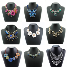 Necklace in Europe and the big exaggerated brief paragraph clavicle necklace female adornment fashion clothing accessories wholesale summer long