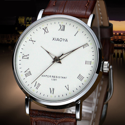 Positive brand watches men and ladies watches waterproof watch male student luminous ladies watch strap watch lovers watch male table