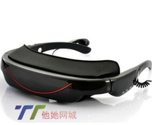 Purchased overseas Spyvideo VG320 portable 72 - inch high-definition widescreen multimedia video glasses