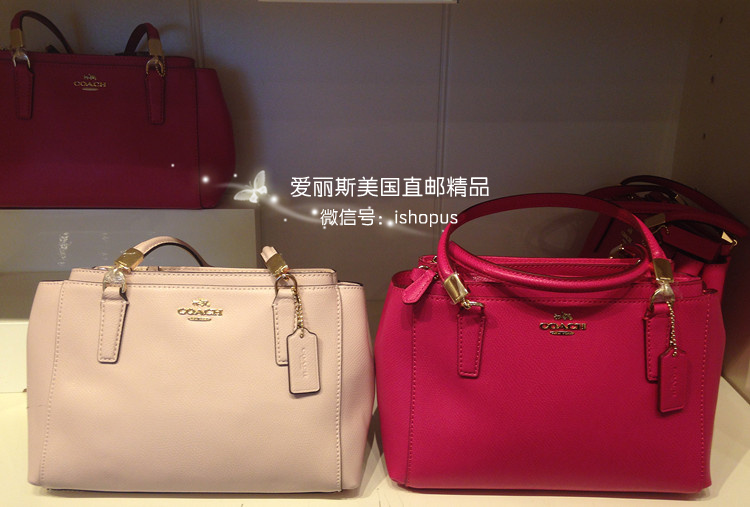 Us Purchasing Coach Bag Double Zipper Trumpet F34797 F34673 In The Number Of Low Loading Zoom