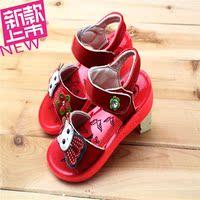 春夏季新款特价儿童鞋真皮牛皮女童凉鞋韩版宝宝鞋小童中童公主鞋